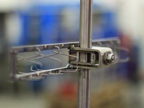Titangestell für Ringe mit verstellbaren Etagen